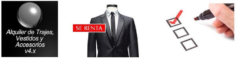 Sistema Para Alquiler De Trajes Vestidos Y Accesorios